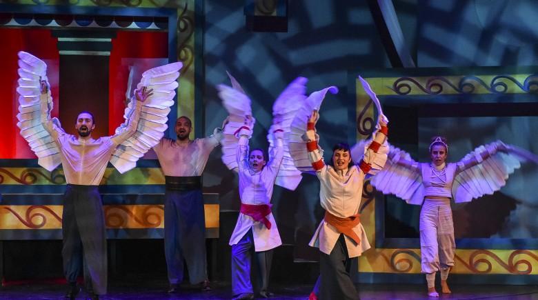 Δαίδαλος και Ίκαρος στο Θέατρο Αστέρια